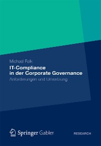 Cover IT-Compliance in der Corporate Governance