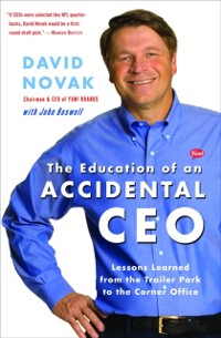 Cover Education of an Accidental CEO
