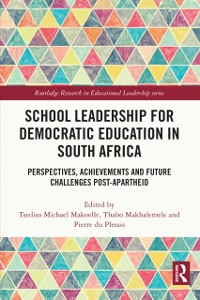 Cover School Leadership for Democratic Education in South Africa