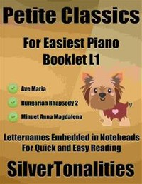 Cover Petite Classics for Easiest Piano Booklet L1
