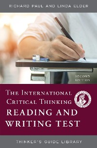 Cover The International Critical Thinking Reading and Writing Test