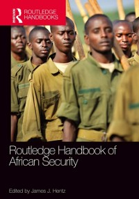 Cover Routledge Handbook of African Security