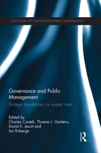 Cover Governance and Public Management