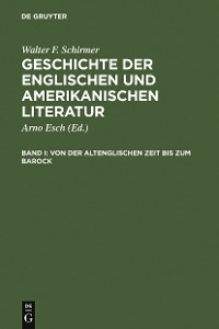 Cover Von der altenglischen Zeit bis zum Barock