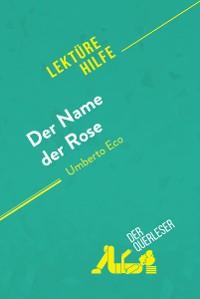 Cover Der Name der Rose von Umberto Eco (Lektürehilfe)