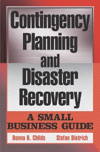 Cover Contingency Planning and Disaster Recovery