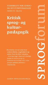 Cover Kritisk sprog- og kulturpAedagogik