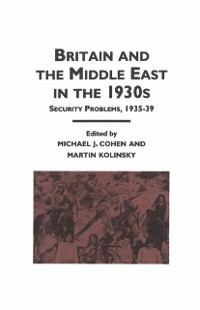 Cover Britain and the Middle East in the 1930's