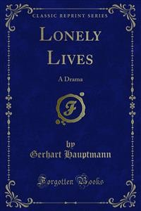 Cover Lonely Lives