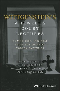 Cover Wittgenstein's Whewell's Court Lectures