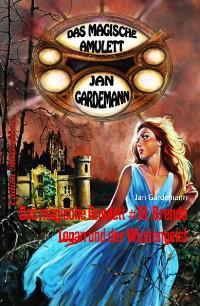 Cover Das magische Amulett #18: Brenda Logan und der Wüstengeist
