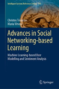 Cover Advances in Social Networking-based Learning
