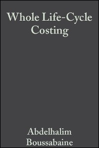 Cover Whole Life-Cycle Costing