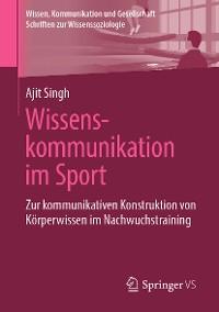Cover Wissenskommunikation im Sport