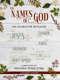 Cover The Names of God--Women's Bible Study Leader Guide