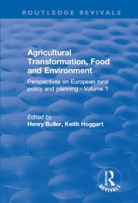 Cover Agricultural Transformation, Food and Environment