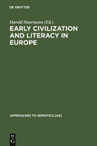 Cover Early Civilization and Literacy in Europe