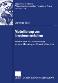 Cover Modellierung von Investorenverhalten