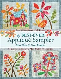 Cover Best Ever Applique Sampler from Piece O'Cake Designs