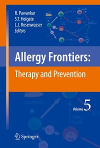 Cover Allergy Frontiers:Therapy and Prevention