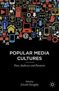 Cover Popular Media Cultures