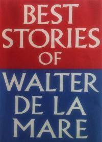Cover Best Stories of Walter de la Mare