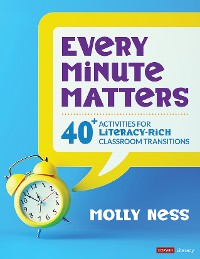Cover Every Minute Matters [Grades K-5]