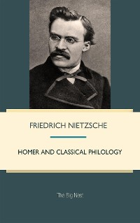 Cover Homer and Classical Philology