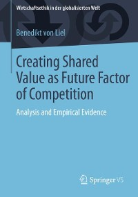 Cover Creating Shared Value as Future Factor of Competition