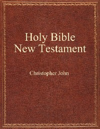 Cover Holy Bible New Testament