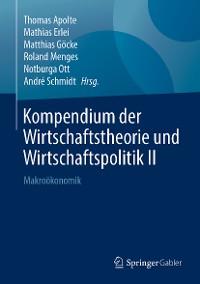 Cover Kompendium der Wirtschaftstheorie und Wirtschaftspolitik II