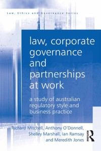 Cover Law, Corporate Governance and Partnerships at Work