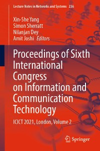 Cover Proceedings of Sixth International Congress on Information and Communication Technology
