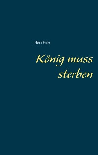 Cover König muss sterben