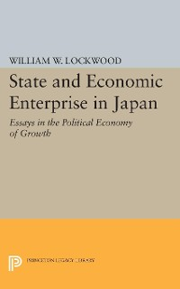 Cover State and Economic Enterprise in Japan