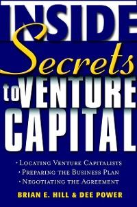 Cover Inside Secrets to Venture Capital