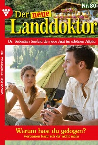 Cover Der neue Landdoktor 80 – Arztroman