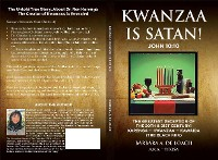 Cover Kwanzaa Is Satan! John 10