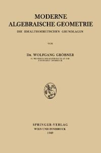 Cover Moderne Algebraische Geometrie