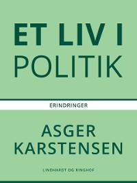 Cover Et liv i politik