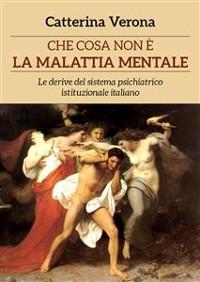 Cover Che cosa non è la malattia mentale. Le derive del sistema psichiatrico istituzionale italiano