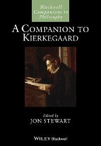 Cover A Companion to Kierkegaard