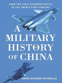 Cover A Military History of China