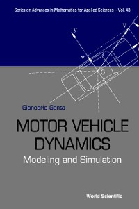 Cover Motor Vehicle Dynamics: Modelling And Simulation