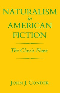 Cover Naturalism in American Fiction