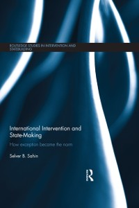 Cover International Intervention and State-making
