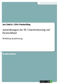 Cover Auswirkungen der EU-Osterweiterung auf Deutschland