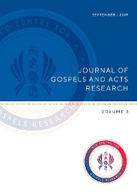 Cover Journal of Gospels and Acts Research Volume 3