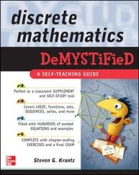 Cover Discrete Mathematics DeMYSTiFied