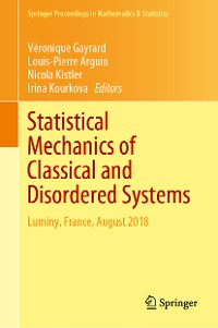 Cover Statistical Mechanics of Classical and Disordered Systems